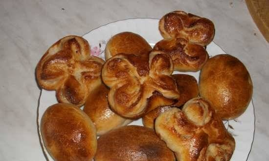 Baked pies (leavened dough only)