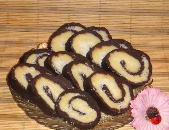 """Roll """"Bounty"""" (without baking)"""