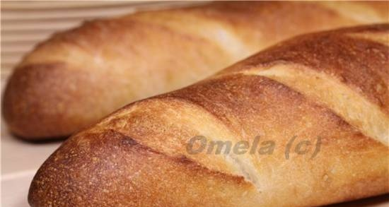 """""""Instant"""" baguettes (3 hours before)"""