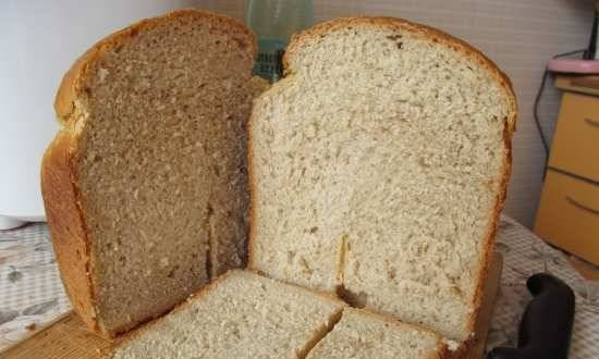 Wheat-rye bread with protein