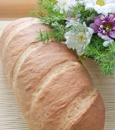 Wheat loaf made from premium flour