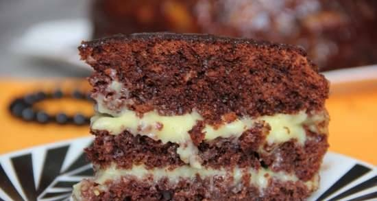 """Pie """"Crazy Cake"""" in a slow cooker"""