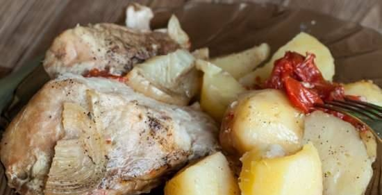 Meat and potatoes in Sibrizka