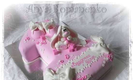 """Assembling the cake """"One"""""""