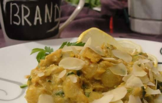 Fish Curry With Bananas