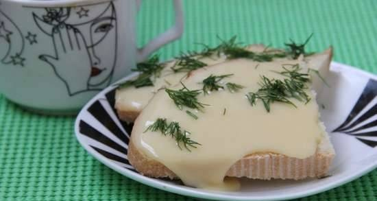 Processed cheese in the Comfort Fy pressure cooker