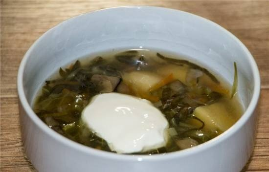 Lean cabbage soup in a slow cooker