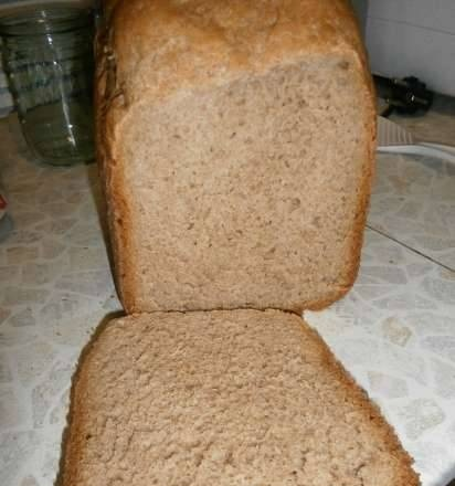 Wheat-rye with aging, adaptation for Binatone BM-1068 (based on a recipe from fugaska)