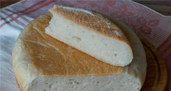 Bread with dough in a pressure cooker Brand 6051