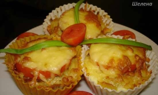 Festive fish muffins in the oven, airfryer, pressure cooker or slow cooker