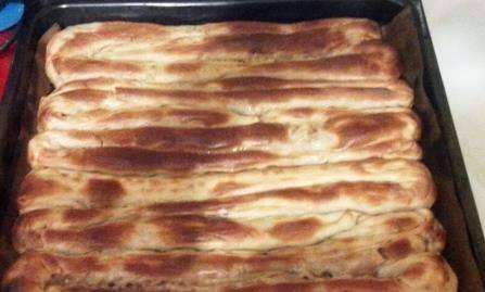 Borek (with meat and potatoes)