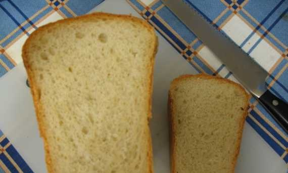 Old-fashioned yeast bread (oven)