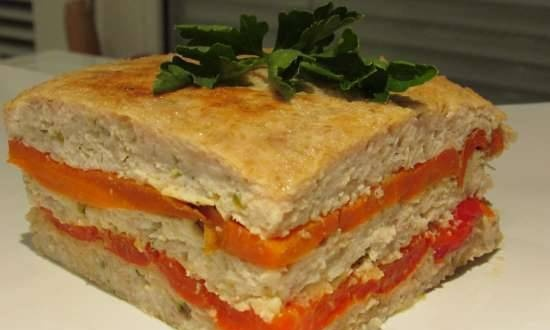 Chicken Terrine with Carrots and Peppers (Redmond RMC 01)