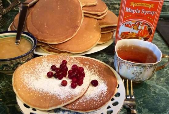 Pancakes from South Carolina in Russian