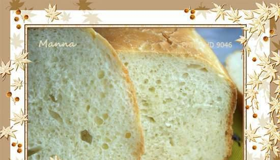 Philips HD9046. French bread