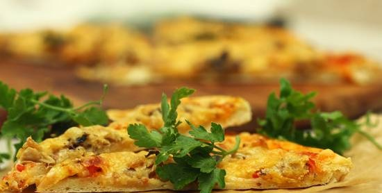 Canned Mackerel Pizza