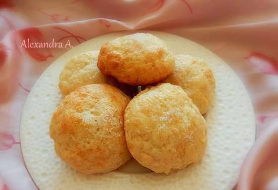Cottage cheese buns for breakfast
