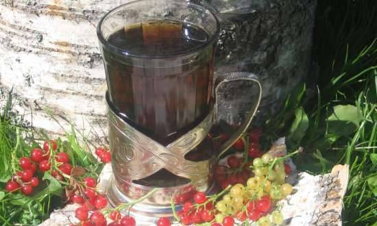 Country tea (fermented) - seven in one