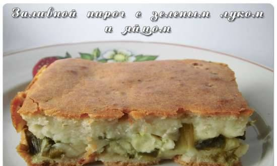 Jellied Pie with Chives and Egg
