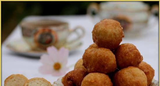 Lucoumades - Greek donuts