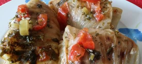 Kohlrouladen or common cabbage rolls