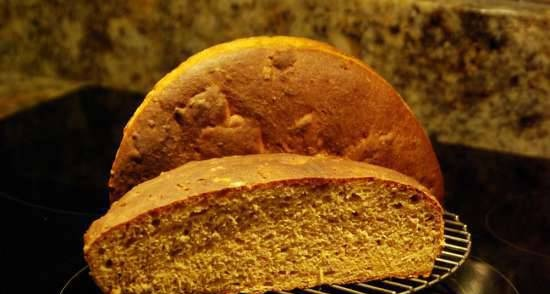 Wheat-rye bread with seeds (oven)
