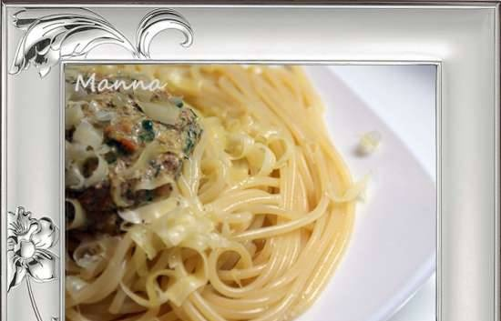 Three ways pasta in the Philips HD3095 multicooker