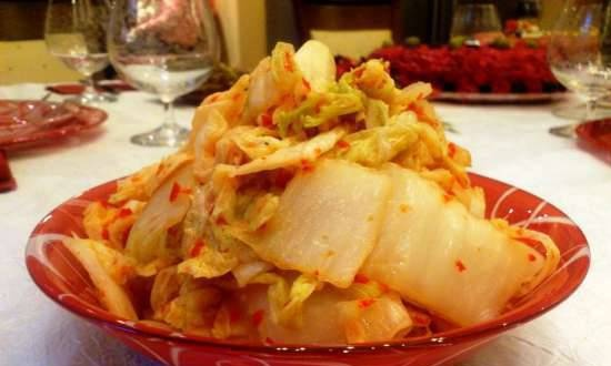 Chimcha (chimchi, kimchi ...), an easy way to cook