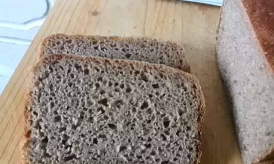 Sourdough rye bread (100% without additives)
