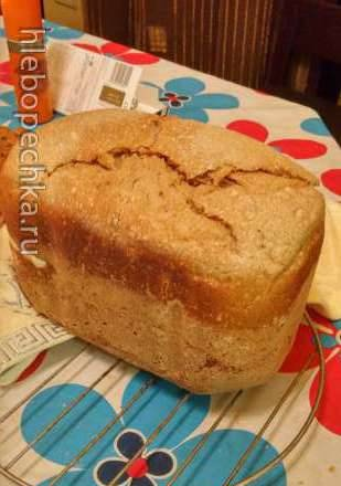 Wheat-rye bread of high humidity with sourdough