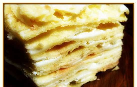 French milfeuille turned Russian napoleon