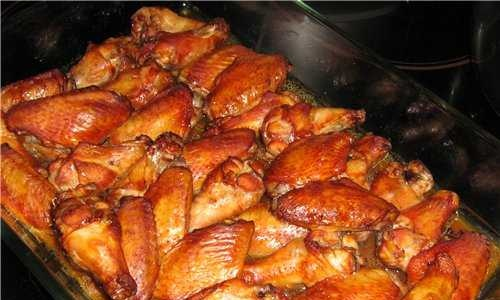 """""""Smoked"""" chicken wings"""