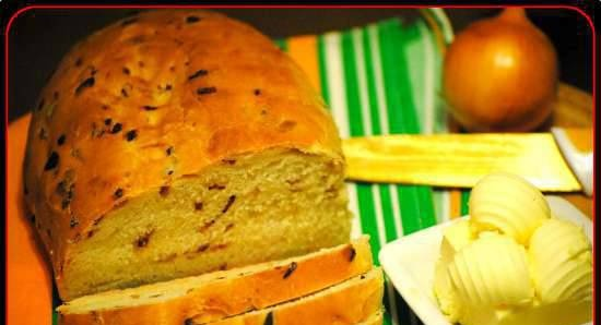 Onion bread with bacon (Zwiebel-Brot mit Speck)