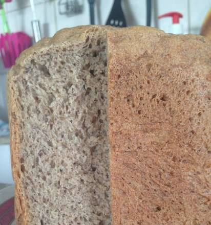 """Bread """"Health"""" with sesame and flax (whole grain)"""