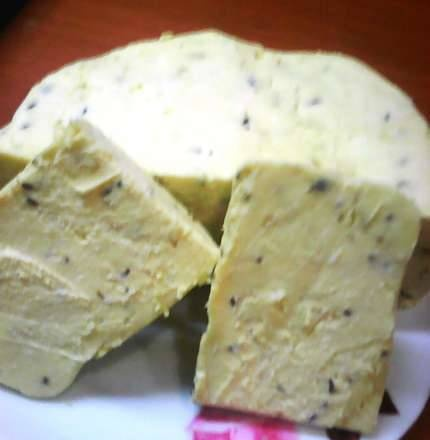 Processed curd cheese