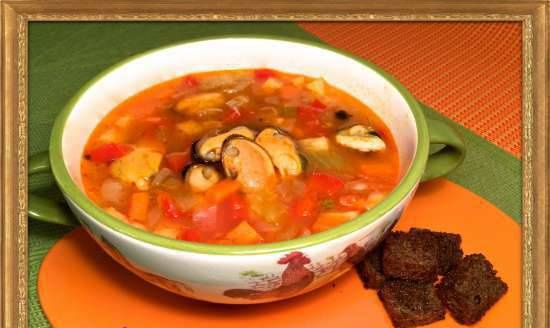 Sylter Muschelsuppe Clam Soup