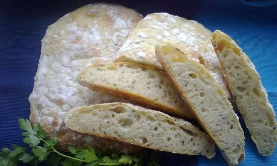 """Wheat bread with herbs """"Italian accent"""""""