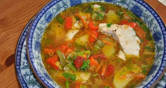 """Fish soup """"in French"""""""
