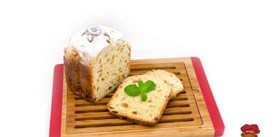 Lemon cake with raisins and peanuts in Oursson BM0800J