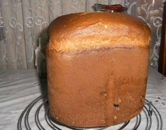 Whipped cake in a bread maker (option 4)