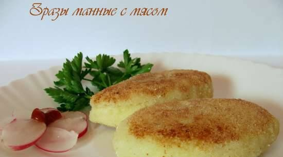 Semolina with meat