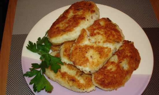 """Potato-rice cutlets """"mother's"""""""