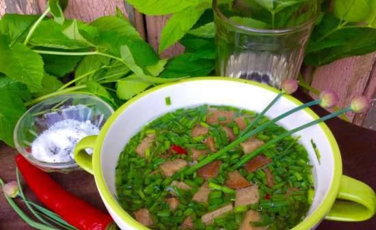 Murtsovka - an old Russian cold soup