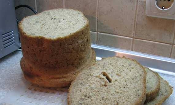 Spicy loaf (bread maker)