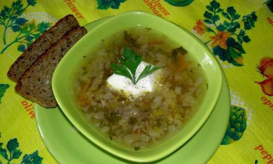 """Cabbage soup """"Summer"""""""