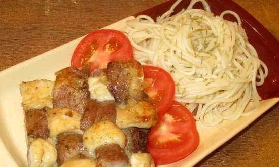 """Cutlets from two types of meat """"Tins"""""""