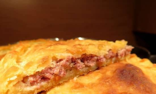 Puff pastry with lamb in Travola and Princess pizza makers