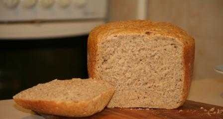 Caraway bread (sweet and sour) (bread maker)