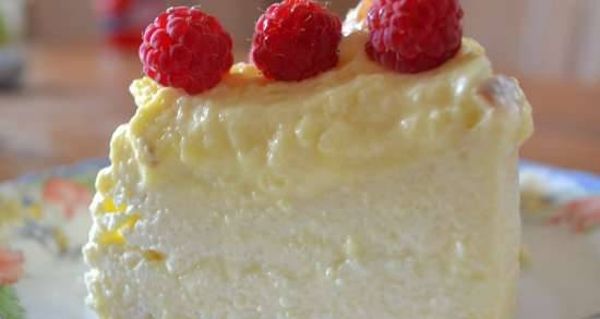Two-layer curd casserole