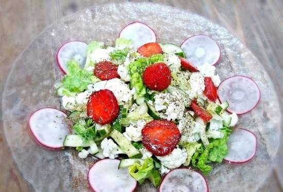 Green-White-Red Salad